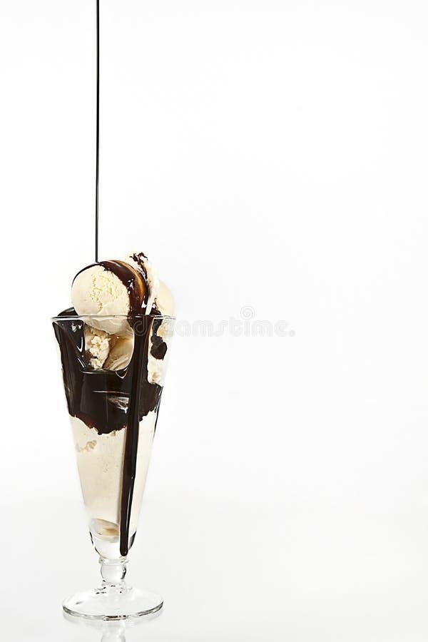 βανίλια πάγου κρέμας στοκ εικόνες με δικαίωμα ελεύθερης χρήσης
