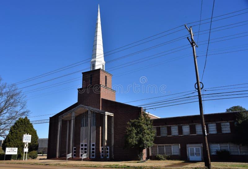 Βαπτιστική εκκλησία Whitehaven, Μέμφιδα, TN στοκ εικόνες