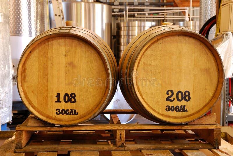 βαρέλια κρασιού στοκ φωτογραφίες με δικαίωμα ελεύθερης χρήσης