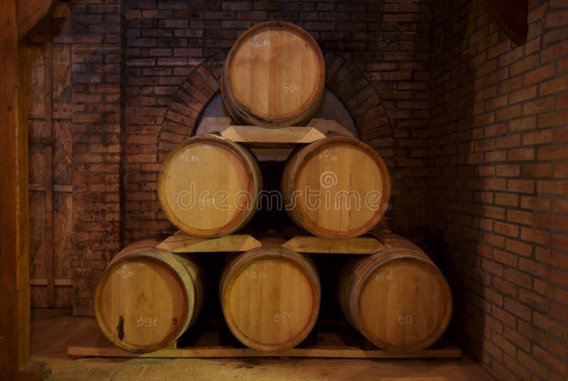 βαρέλια κρασιού στοκ εικόνα