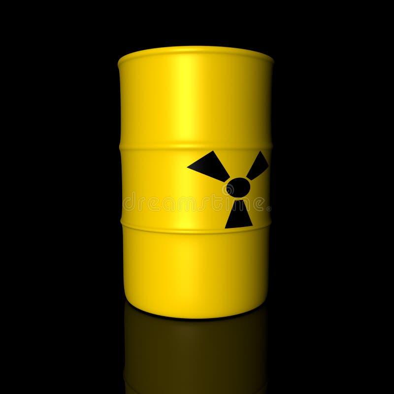 βαρέλι ραδιενεργό απεικόνιση αποθεμάτων