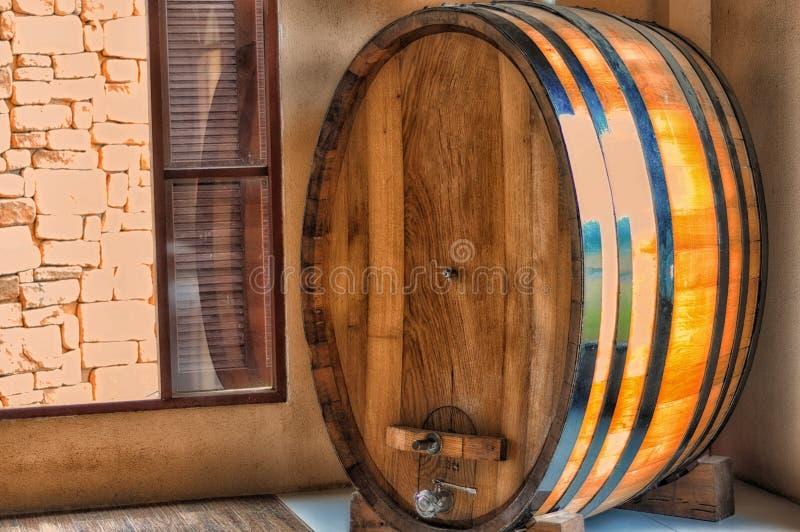 Βαρέλι κρασιού στοκ φωτογραφίες