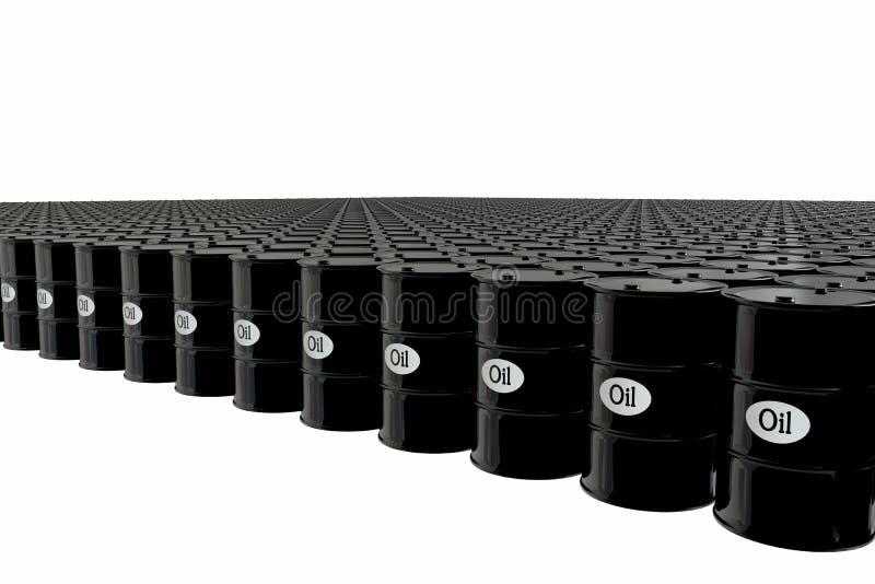 Βαρέλι πετρελαίου στο άσπρο υπόβαθρο χρυσή ιδιοκτησία βασικών πλήκτρων επιχειρησιακής έννοιας που φθάνει στον ουρανό Δολάρια ΗΠΑ ελεύθερη απεικόνιση δικαιώματος