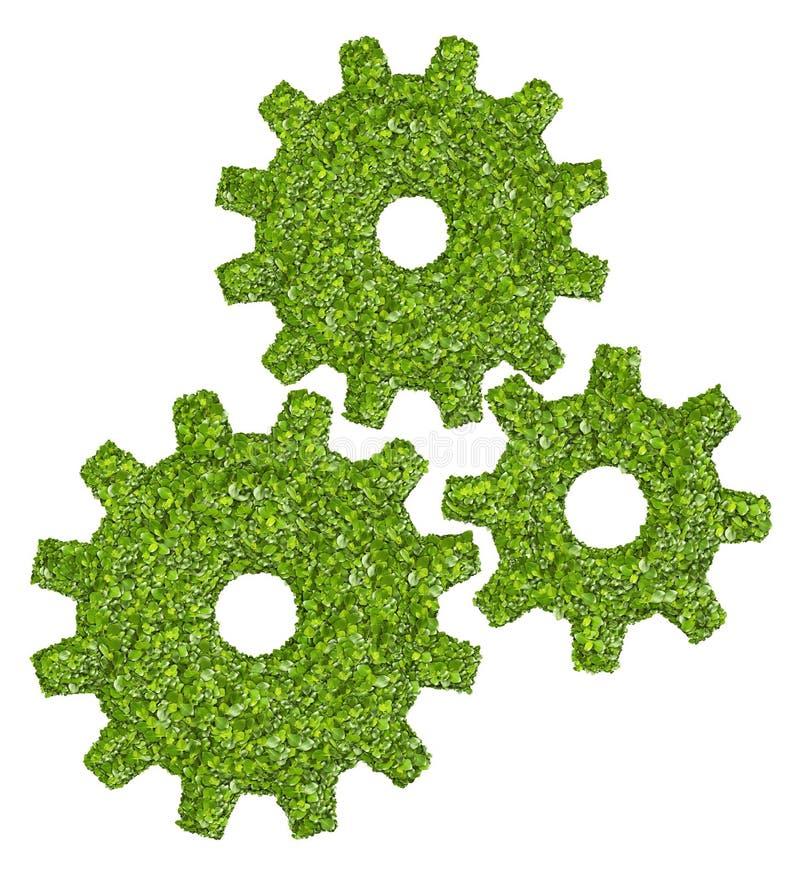 Βαραίνω ή εργαλεία από την πράσινη χλόη στοκ εικόνες
