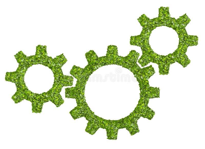 Βαραίνω ή εργαλεία από την πράσινη χλόη στοκ εικόνες με δικαίωμα ελεύθερης χρήσης