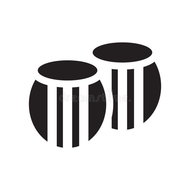 Βαρελιών σημάδι και σύμβολο εικονιδίων διανυσματικό που απομονώνονται στο άσπρο υπόβαθρο, έννοια λογότυπων βαρελιών ελεύθερη απεικόνιση δικαιώματος