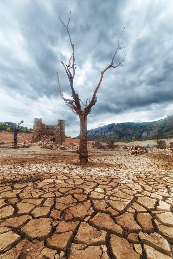 Βαριά ξηρασία στοκ φωτογραφίες με δικαίωμα ελεύθερης χρήσης