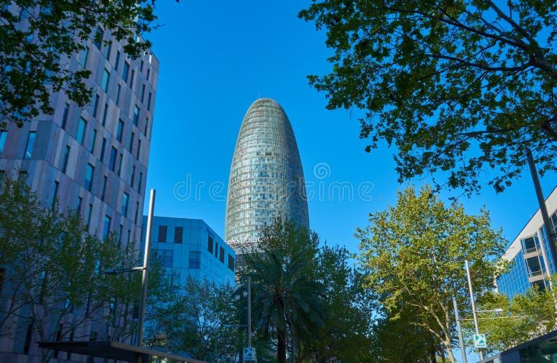 Βαρκελώνη, Ισπανία - 7 Απριλίου 2019: Κτήρια της Βαρκελώνης, Ισπανία στοκ εικόνες