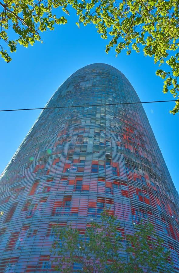 Βαρκελώνη, Ισπανία - 7 Απριλίου 2019: Κτήρια της Βαρκελώνης, Ισπανία στοκ φωτογραφίες με δικαίωμα ελεύθερης χρήσης