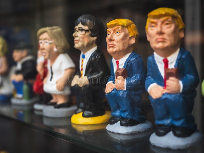 Βαρκελώνη, Ισπανία - ΟΚΤ 11, 2018: Ντόναλντ Τραμπ στοκ φωτογραφίες