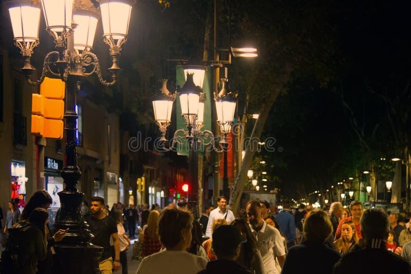 Βαρκελώνη Canaletes Rambla στοκ φωτογραφία