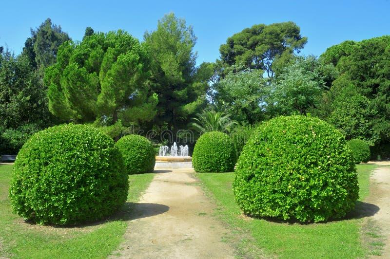 Download Βαρκελώνη De Gardens Palau Pedralbes Reial Εκδοτική Στοκ Εικόνα - εικόνα από ancientness, υπαίθρια: 22793839
