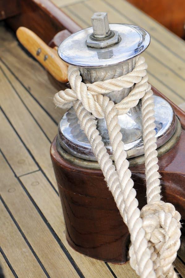 βαρούλκο σχοινιών στοκ φωτογραφία με δικαίωμα ελεύθερης χρήσης