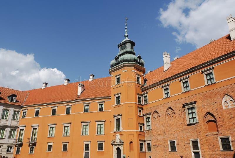 Βαρσοβία Castle στην Πολωνία στοκ εικόνες με δικαίωμα ελεύθερης χρήσης