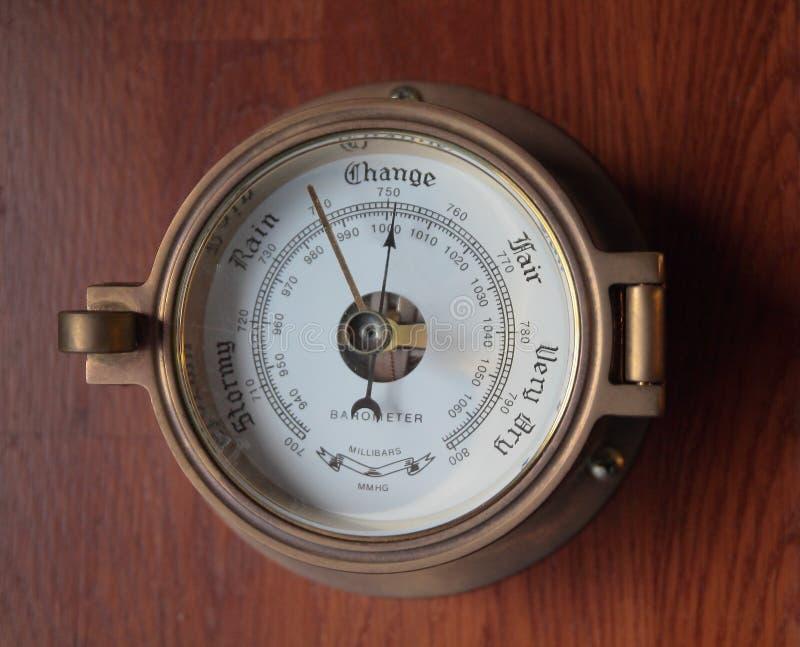 βαρόμετρο στοκ φωτογραφία με δικαίωμα ελεύθερης χρήσης
