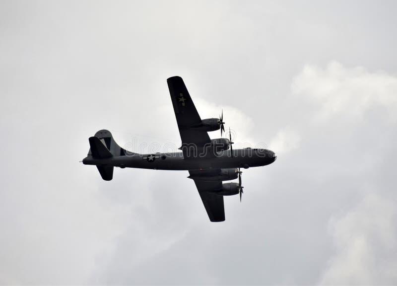 βαρύς ΙΙ πολεμικός κόσμος βομβαρδιστικών αεροπλάνων στοκ εικόνα