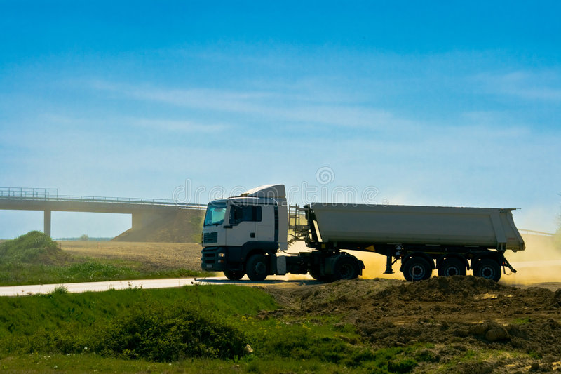 βαρύ μακρύ όχημα truck στοκ εικόνες