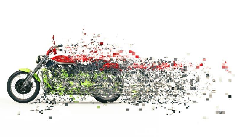 Βαρύ ποδήλατο απεικόνιση αποθεμάτων