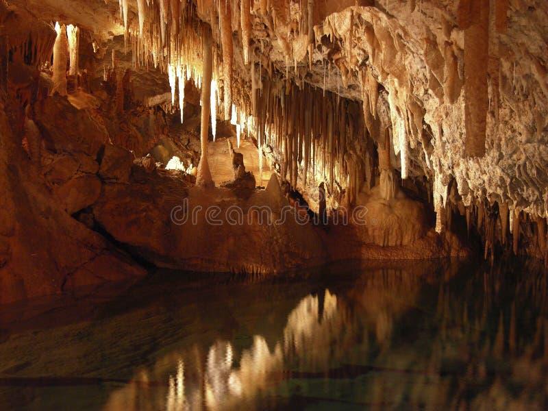 βασίλειο σπηλιών στοκ φωτογραφίες