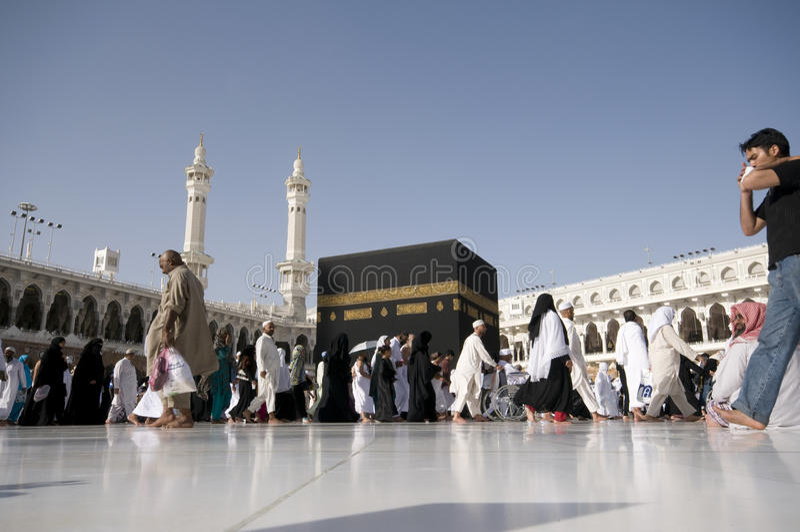 βασίλειο makkah Σαουδάραβα&si στοκ εικόνες με δικαίωμα ελεύθερης χρήσης