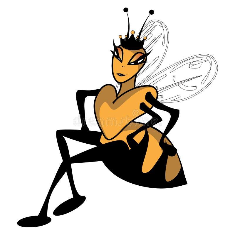 βασίλισσα μελισσών ελεύθερη απεικόνιση δικαιώματος