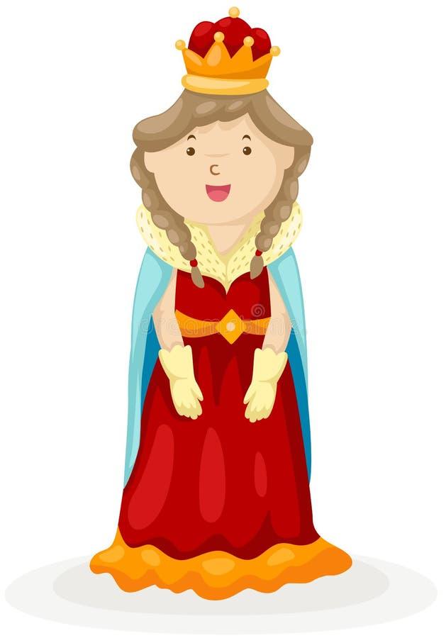 βασίλισσα διανυσματική απεικόνιση