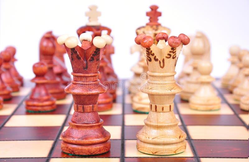 βασίλισσες σκακιού στοκ φωτογραφίες