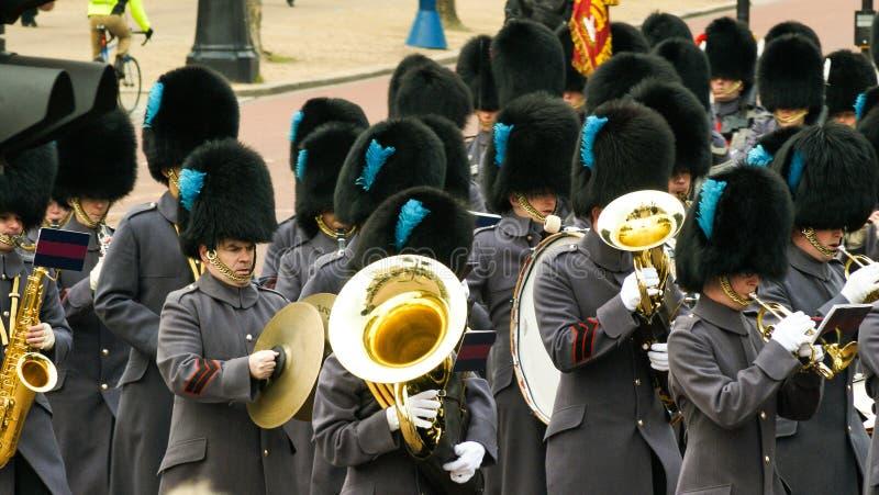 Βασίλισσες Guards στοκ φωτογραφίες με δικαίωμα ελεύθερης χρήσης