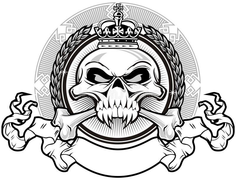 Βασίλειο κρανίων απεικόνιση αποθεμάτων