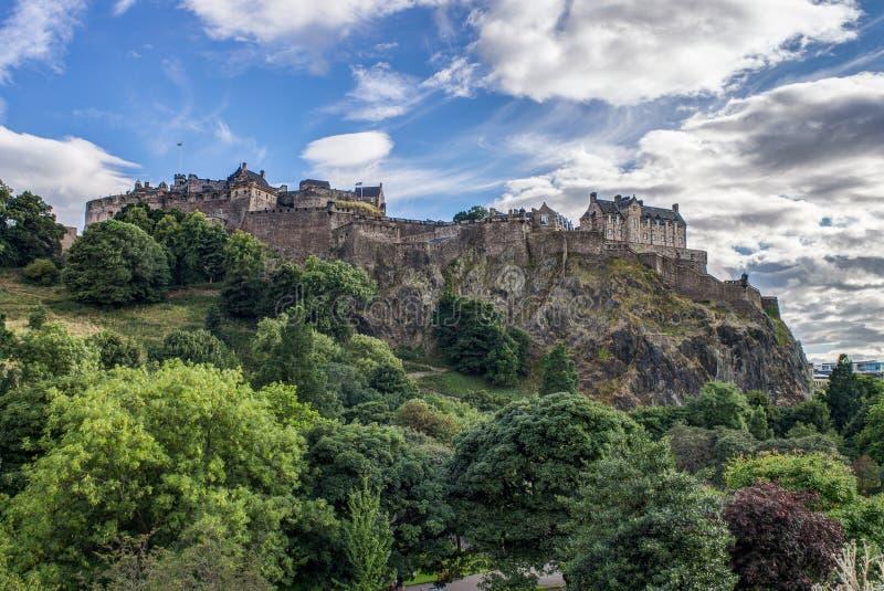 βασίλειο Σκωτία του Εδιμβούργου κάστρων που ενώνεται στοκ εικόνες με δικαίωμα ελεύθερης χρήσης