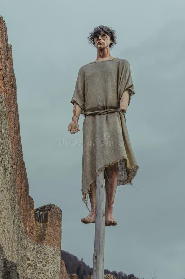 Βασανιστήρια μεθόδου Dracula στοκ εικόνες με δικαίωμα ελεύθερης χρήσης