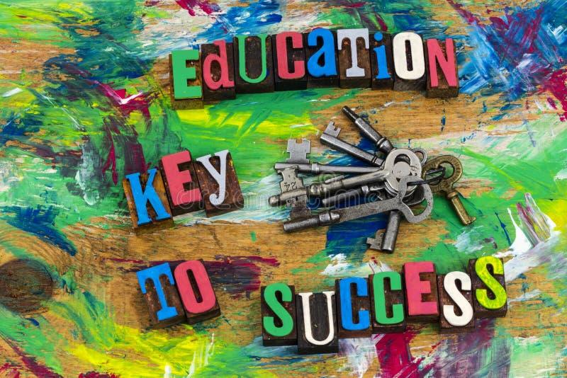 Βασική σταδιοδρομία γνώσης επιτυχίας εκπαίδευσης στοκ φωτογραφίες με δικαίωμα ελεύθερης χρήσης
