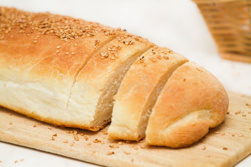 βασική φραντζόλα ψωμιού πο στοκ εικόνες