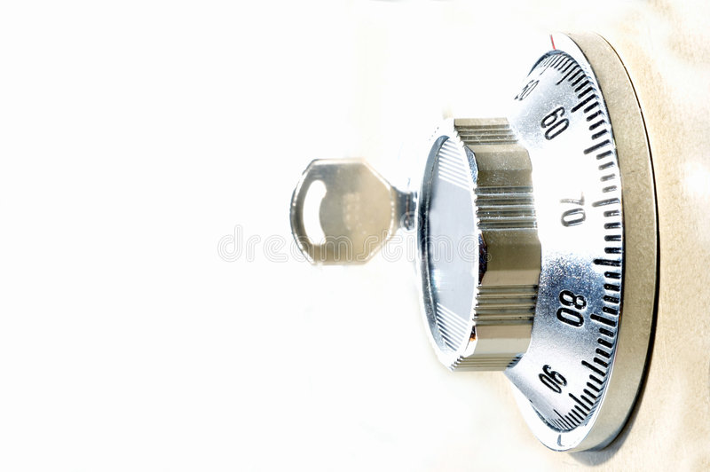βασικός ασφαλής ανατροπέας κλειδωμάτων στοκ εικόνα