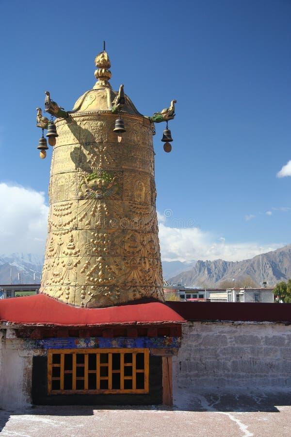 βασικός ναός Θιβέτ στοκ εικόνες με δικαίωμα ελεύθερης χρήσης