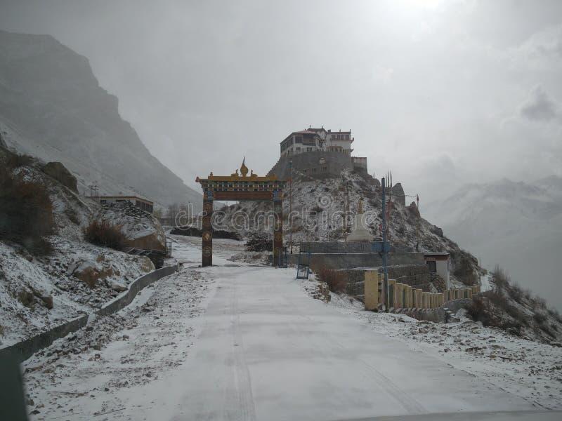 Βασικό μοναστήρι στοκ εικόνες