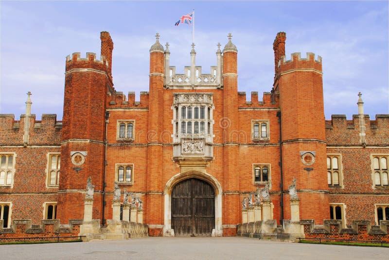 βασικό παλάτι πυλών δικασ&t στοκ φωτογραφία με δικαίωμα ελεύθερης χρήσης