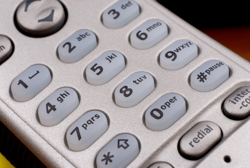 βασικό τηλέφωνο μαξιλαριώ&n στοκ φωτογραφία με δικαίωμα ελεύθερης χρήσης