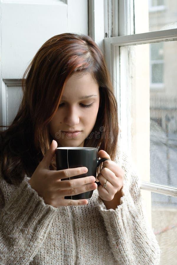 βασικό τσάι σπασιμάτων στοκ εικόνες με δικαίωμα ελεύθερης χρήσης