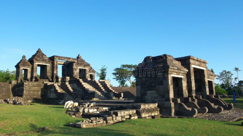 βασικό ratu παλατιών πυλών boko στοκ φωτογραφία με δικαίωμα ελεύθερης χρήσης