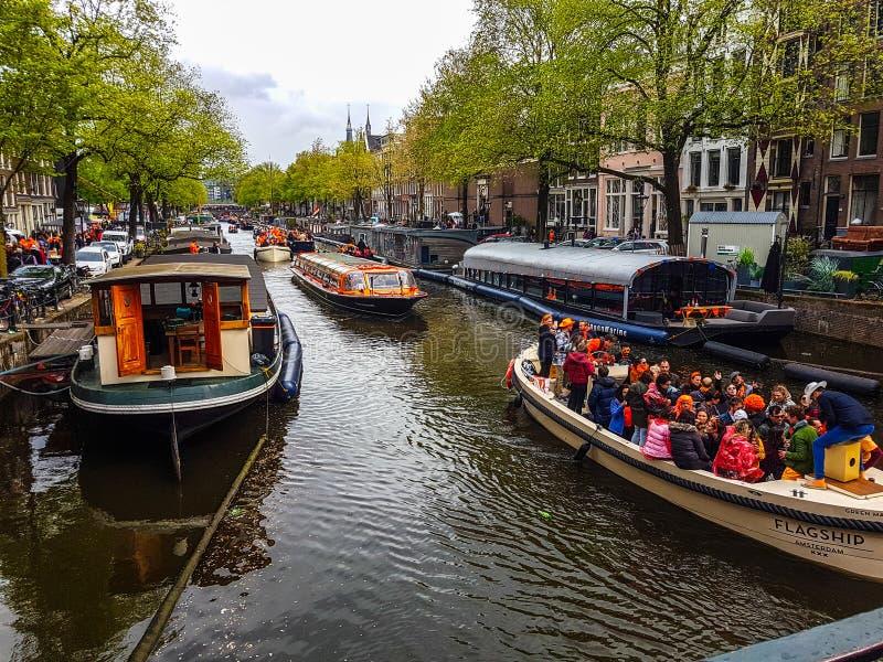 Βασιλιάδες ημέρα Άμστερνταμ 2019 στοκ φωτογραφία με δικαίωμα ελεύθερης χρήσης