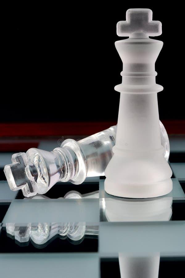 βασιλιάδες σκακιού στοκ φωτογραφίες με δικαίωμα ελεύθερης χρήσης