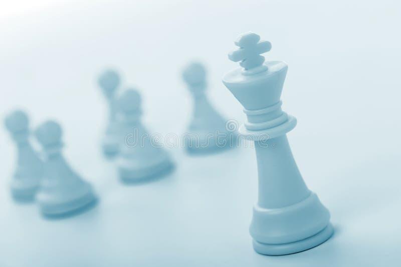 βασιλιάς αριθμού σκακι&omicr στοκ φωτογραφία με δικαίωμα ελεύθερης χρήσης