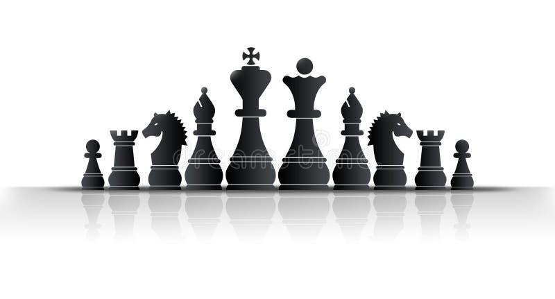 βασιλιάς σκακιού ελεύθερη απεικόνιση δικαιώματος