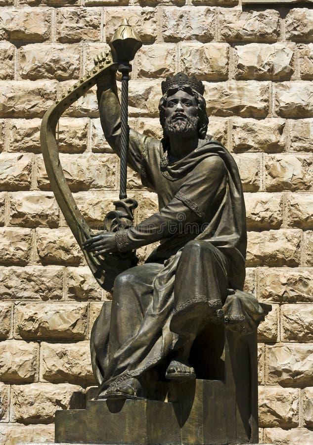 βασιλιάς του Δαβίδ στοκ φωτογραφίες