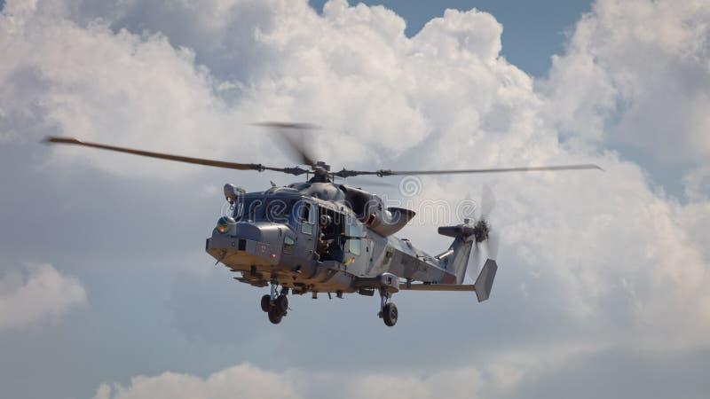 Βασιλικά λυγξ HMA ναυτικού ελικόπτερο 8 στοκ φωτογραφία
