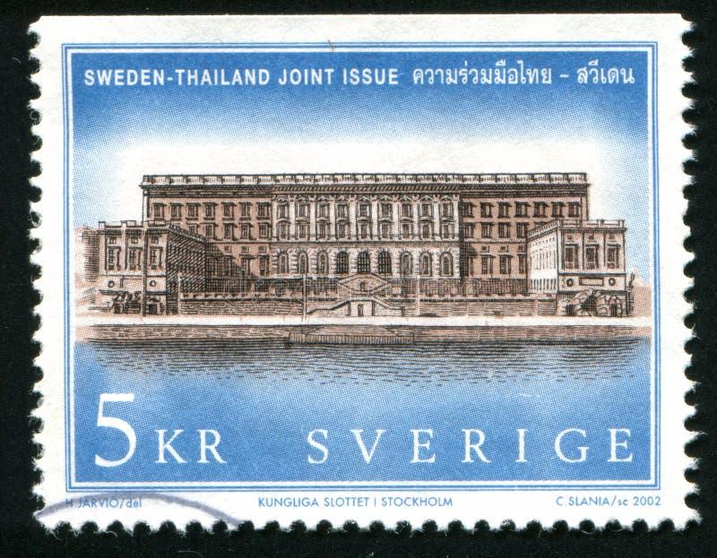 Βασιλικά παλάτια στη Σουηδία στοκ φωτογραφία με δικαίωμα ελεύθερης χρήσης
