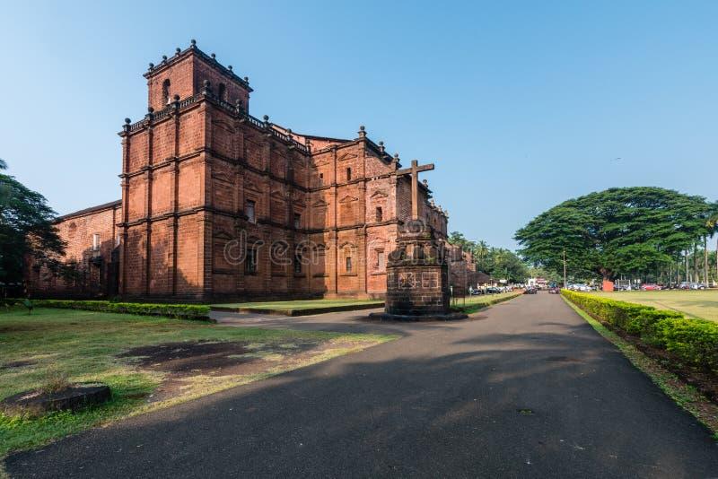 Βασιλική της εκκλησίας Bom Ιησούς, μια περιοχή κληρονομιάς της ΟΥΝΕΣΚΟ στοκ φωτογραφία με δικαίωμα ελεύθερης χρήσης