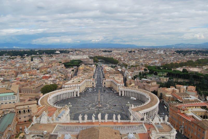 Βασιλική του SAN Pietro στην πόλη Βατικάνου στη Ρώμη στοκ φωτογραφία με δικαίωμα ελεύθερης χρήσης