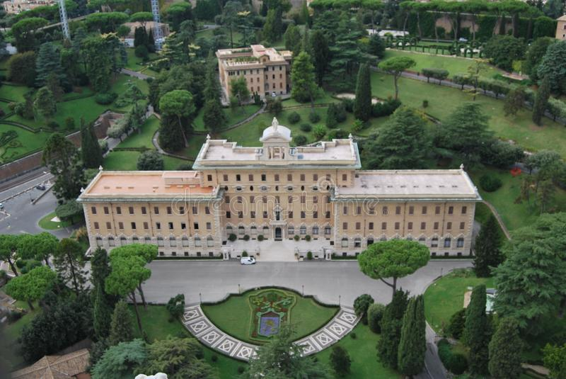 Βασιλική του SAN Pietro στην πόλη Βατικάνου στη Ρώμη στοκ φωτογραφία
